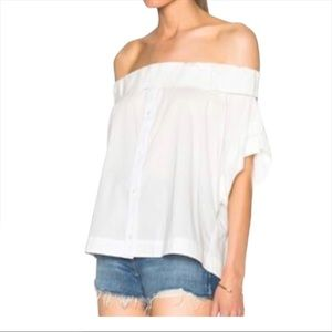 SEA NEW YORK OFF THE SHOULDER TOP SIZE 6